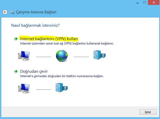 Setup pptp vpn on windows