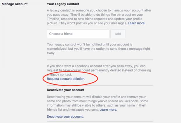 facebook-hesabini-kapatma